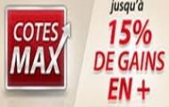 """""""Cotes Max"""" sur Betclic sport : gagnez jusqu'à 15% en plus sur vos paris sportifs"""