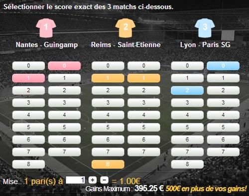 Unibet bonus cash de 500 euros
