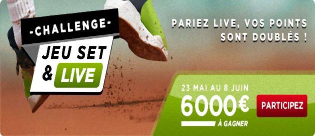 challenge tennis betclic