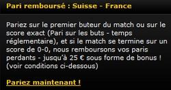 Paris remboursés sur Bwin spécial coupe du monde