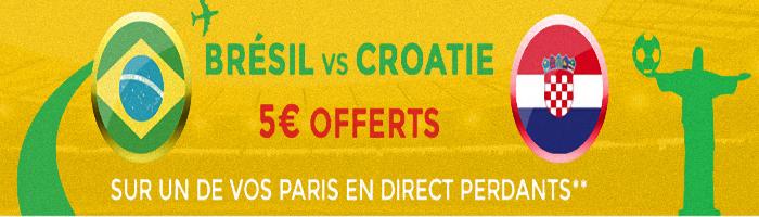 brésil croatie parionsweb pari perdant