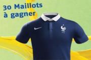 maillots des bleus offerts sur pmu.fr
