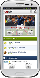 application betclic android