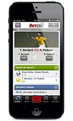 application betclic iphone