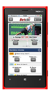 appli betclic mobile pour windows