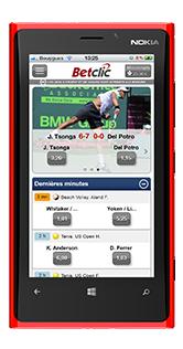 appli betclic mobile pour windows