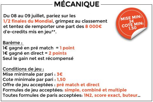 challenge 1/2 finales cagnotte 8000 euros parionsweb