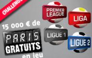 Reprise des championnats européens sur PMU : Challenge Foot avec 15 000 € offerts