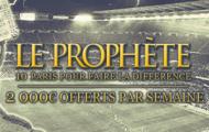 Soyez le prophète de Winamax sport en devenant le meilleur parieur : 2000€ chaque semaine