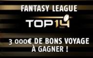 Fantasy League Top 14 : devenez l'entraîneur de rugby de l'année sur Pmu