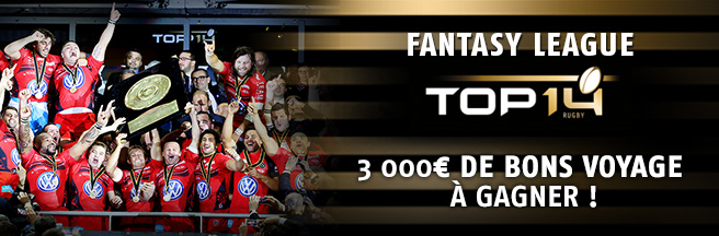 fantasy league top 14 sur pmu.fr