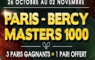 Pariez sur le Paris-Bercy Masters 1000 avec Netbet et remportez des paris gratuits