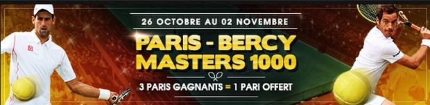 Paris-Bercy Masters 1000 avec Netbet