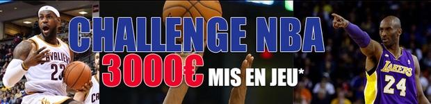 3 000 euros à gagner sur le challenge NBA de Parionsweb FDJ