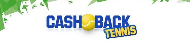 10% des mises remboursés sur le cash back tennis d'Unibet sport