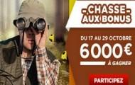 La chasse aux bonus est ouverte sur Betclic : 6 000 euros à gagner sur le challenge 100% foot