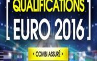 Qualifications Euro 2016 sur Netbet : une seule erreur sur un pari combiné et Netbet vous rembourse