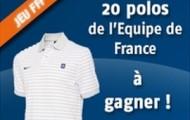 20 polos de l'équipe de France à gagner sur PMU : pariez 10 euros et remportez votre polo officiel