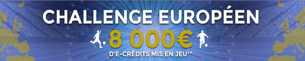 8000 euros sur le challege européen de parionsweb