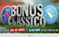 Bonus Classico PSG-OM sur Winamax : 20 euros offert sur le match Paris - Marseille