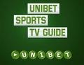 Programme des matchs en direct sur la télévision d'Unibet
