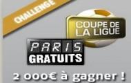 Challenge foot Coupe de la Ligue sur PMU : remportez votre part des 2000 euros mis en jeu