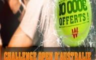 Challenge Open d'Australie sur Winamax : 10 000 euros mis en jeu pour les 300 meilleurs parieurs