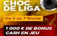 Challenge Liga sur PMU : 1 000 euros à gagner en pariant sur le match Atletico Madrid / Real Madrid