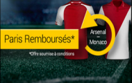Pariez sur le match Arsenal – Monaco sur Bwin : les paris perdants seront remboursés si Arsenal gagne