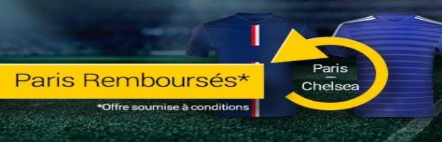 Paris remboursés PSG-Chelsea