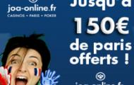Code promo JOA sport : 250 euros de paris sportif offerts sur JOAonline.fr