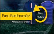 Pariez sur le match PSG – Chelsea : Bwin vous rembourse 20 euros si Chelsea gagne