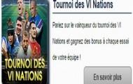 Pariez sur le Tournoi des VI Nations avec Netbet : un bonus offert à chaque essai marqué