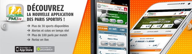 Application mobile PMU sport