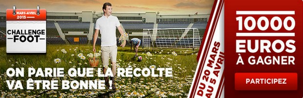 Challenge foot printemps Betclic.fr