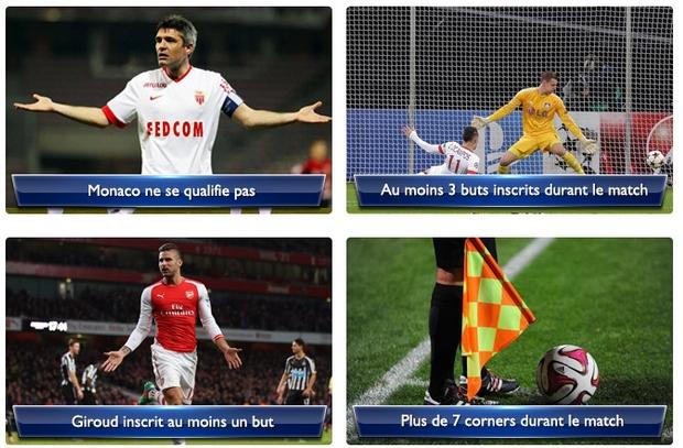 paris gratuit Monaco-Arsenal