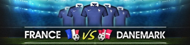 Qualifications Euro 2016 France-Danemark sur NetBet