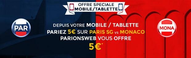 ParionsWeb PSG-Monaco
