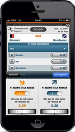 Application PMU pour Iphone