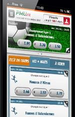 Appli PMU android