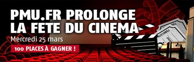 La fête du cinema sur PMU