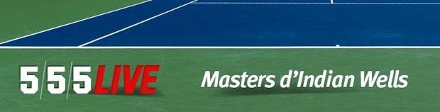 Challenge tennis Indian Wells sur Unibet
