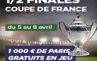 Suivez les Demi-finales de la Coupe de France avec PMU : 1.000 euros à partager
