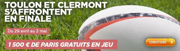 Challenge rugby sur PMU