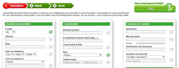 20€ offerts sur Unibet turf sans code bonus