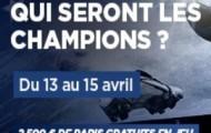 Soyez les grands gagnants des quarts de finale de la Ligue des Champions : 2500 euros à rafler sur PMU