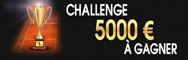 Challenge Roland Garros sur Netbet