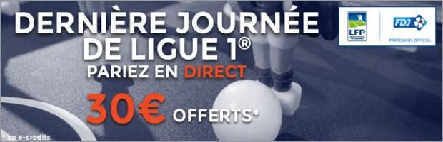 Challenge Dernière Journée Ligue 1 ParionsWeb FDJ