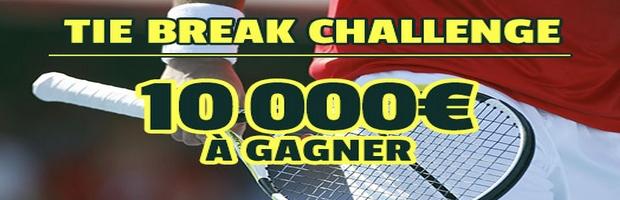 France Pari challenge tennis spécial Roland Garros