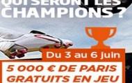 Challenge PMU sur la finale de Ligue des Champions : 5.000 euros mis en jeu sur Juventus-Barcelone